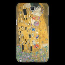 """Чехол для Samsung Galaxy Note 2 """"Поцелуй"""" - картина, искусство, поцелуй, густав климт"""