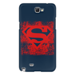 "Чехол для Samsung Galaxy Note 2 ""Superman "" - арт, logo, comics, супермен, комиксы, superman, герой, dc, superhero, hero"