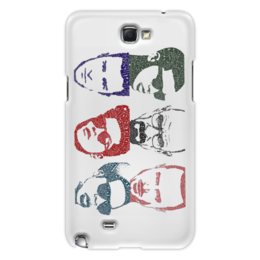 "Чехол для Samsung Galaxy Note 2 ""Famosi-Tipografia"""