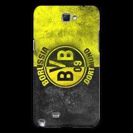 """Чехол для Samsung Galaxy Note 2 """"Borussia Dortmund"""" - футбол, популярные, в подарок, оригинально"""