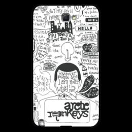 """Чехол для Samsung Galaxy Note 2 """"Arctic Monkeys"""" - музыка, рок, группы, инди, arctic monkeys"""