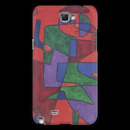 """Чехол для Samsung Galaxy Note 2 """"Будущее (Пауль Клее)"""" - картина, живопись, клее"""