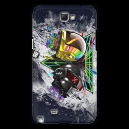 "Чехол для Samsung Galaxy Note 2 ""Daft Punk"" - арт, диско, электро, robots, фанк"