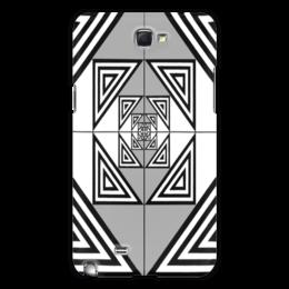 """Чехол для Samsung Galaxy Note 2 """"vista"""" - арт, рисунок, в подарок, оригинально, абстракция"""