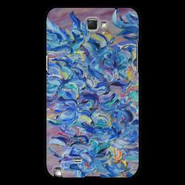 "Чехол для Samsung Galaxy Note 2 ""Весна"" - девушка, happiness, счастье, blue, spring"