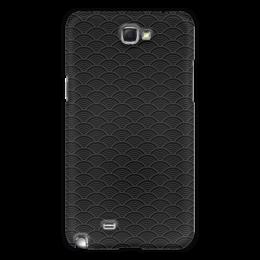"""Чехол для Samsung Galaxy Note 2 """"Чешуя"""" - узор, рисунок, орнамент, волны, абстаркция"""