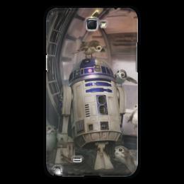 """Чехол для Samsung Galaxy Note 2 """"Звездные войны - R2-D2"""" - кино, фантастика, star wars, звездные войны, дарт вейдер"""