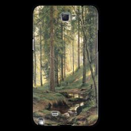 "Чехол для Samsung Galaxy Note 2 ""Ручей в лесу"" - картина, шишкин"