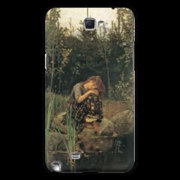 """Чехол для Samsung Galaxy Note 2 """"Алёнушка (картина Васнецова)"""" - картина, сказка, васнецов"""