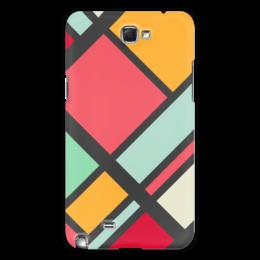"Чехол для Samsung Galaxy Note 2 ""Модерн"" - узор, стиль, орнамент, абстракция, модерн"
