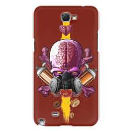 "Чехол для Samsung Galaxy Note 2 ""Граффити Арт"" - skull, череп, граффити, краска, graffiti"