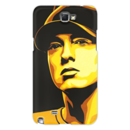 "Чехол для Samsung Galaxy Note 2 ""Еminem Face"" - eminem, эминем, slim shady, слим шейди"