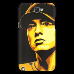 "Чехол для Samsung Galaxy Note 2 ""Еminem Face"" - eminem, эминем, slim shady, слим шейди"