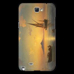 """Чехол для Samsung Galaxy Note 2 """"Неаполитанский залив"""" - картина, айвазовский"""
