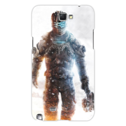 "Чехол для Samsung Galaxy Note 2 ""Dead Space 3"" - dead space, мертвый космос, игра мертвый космос"