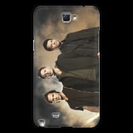 """Чехол для Samsung Galaxy Note 2 """"Сверхъестественное"""" - сериал, мистика, кас, дин, сэм"""
