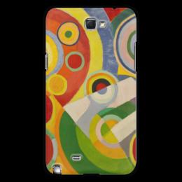 """Чехол для Samsung Galaxy Note 2 """"Абстракционизм (картина Делоне)"""" - картина, краски, искусство, масло, делоне"""