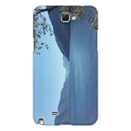 """Чехол для Samsung Galaxy Note 2 """"Удивительный Алтай"""" - lake, озеро, алтай, телецкое озеро, телецкое"""