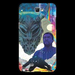 "Чехол для Samsung Galaxy Note 2 ""Черная пантера"" - комиксы, марвел, черная пантера, black panther"