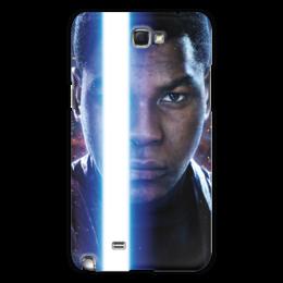 """Чехол для Samsung Galaxy Note 2 """"Звездные войны - Финн"""" - кино, фантастика, star wars, звездные войны, дарт вейдер"""