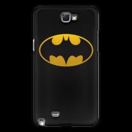 """Чехол для Samsung Galaxy Note 2 """"бэтмен"""" - бэтмен, бетмен"""