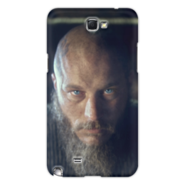 "Чехол для Samsung Galaxy Note 2 ""Рагнар"" - история, викинги, путь воина, рагнар, сериал викинги"