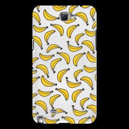 "Чехол для Samsung Galaxy Note 2 ""Бананы"" - фрукты, бананы, фрукт, банан"