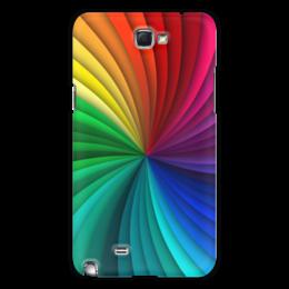 """Чехол для Samsung Galaxy Note 2 """"Калейдоскоп"""" - узор, рисунок, абстракция, стильный, абстрактный"""