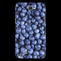 "Чехол для Samsung Galaxy Note 2 ""Черника"" - ягоды, blueberry"
