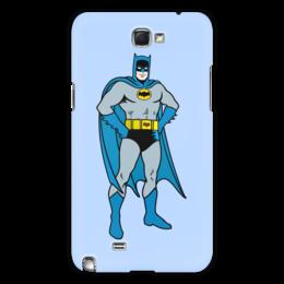"""Чехол для Samsung Galaxy Note 2 """"Бэтмен"""" - batman, бэтмен"""