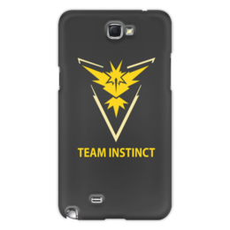 "Чехол для Samsung Galaxy Note 2 ""Team Instinct"" - знак, pokemon, покемон, instinct, инстинкт"