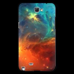 """Чехол для Samsung Galaxy Note 2 """"Космическая туманность"""" - космос, фотография, звёзды, спутник, туманность"""