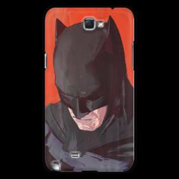 """Чехол для Samsung Galaxy Note 2 """"Бэтмен"""" - комиксы, batman, бэтмен, dc comics, batman vs superman"""