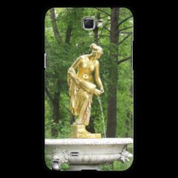 """Чехол для Samsung Galaxy Note 2 """"Нимфа"""" - россия, парк, скульптура, нимфа, петергоф"""