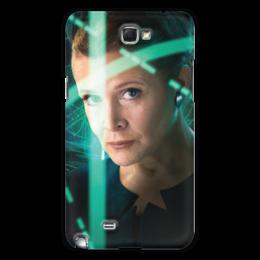 """Чехол для Samsung Galaxy Note 2 """"Звездные войны - Лея"""" - звездные войны, фантастика, кино, дарт вейдер, star wars"""