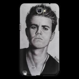 "Чехол для Samsung Galaxy Note 2 ""Дневники вампира Vampire diaries"" - дневники вампира, vampire, вампир, the vampire diaries"