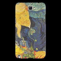 "Чехол для Samsung Galaxy Note 2 ""Портрет доктора Гаше (Винсент ван Гог)"" - картина, ван гог"