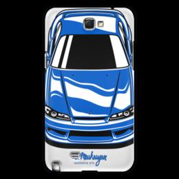"Чехол для Samsung Galaxy Note 2 ""Silvia S15"" - jdm, тачки, nissan"