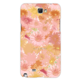 "Чехол для Samsung Galaxy Note 2 ""flowers#1"" - цветы, букет, гербер"