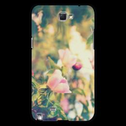 """Чехол для Samsung Galaxy Note 2 """"Rosa Retro Note2"""" - цветы, ретро, в подарок, девушке, природа, розы"""