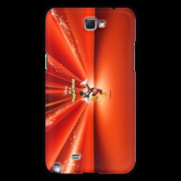 """Чехол для Samsung Galaxy Note 2 """"Микки Маус"""" - микки маус, дисней, мультфильмы"""