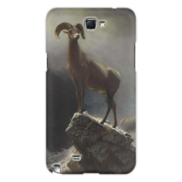 "Чехол для Samsung Galaxy Note 2 ""Толсторог"" - картина, бирштадт"