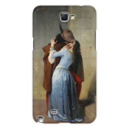 """Чехол для Samsung Galaxy Note 2 """"Поцелуй (Франческо Айец)"""" - картина, поцелуй, айец"""