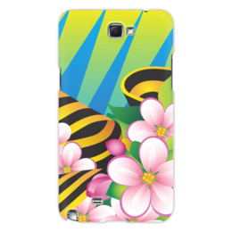 "Чехол для Samsung Galaxy Note 2 ""Победа"" - праздник, цветы, 9 мая"