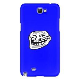 """Чехол для Samsung Galaxy Note 2 """"Mem смех"""" - смех, приколы, лицо, мемы, mem"""
