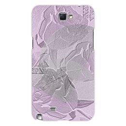 """Чехол для Samsung Galaxy Note 2 """"Розовый мусс."""" - цветы, цветок, роза, розовый, розы"""
