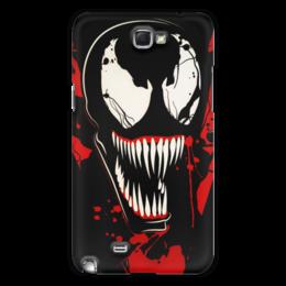 "Чехол для Samsung Galaxy Note 2 ""Веном (Venom)"" - comics, комиксы, venom, марвел, веном"
