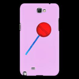"""Чехол для Samsung Galaxy Note 2 """"Сладкая жизнь"""" - рисунок, сладости, конфета, леденец, карамель"""
