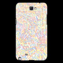 "Чехол для Samsung Galaxy Note 2 ""plppgtysxxx132"" - арт, узор, абстракция, фигуры, текстура"