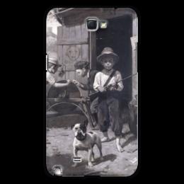 "Чехол для Samsung Galaxy Note 2 ""Slim Finnegan"" - картина, роквелл"